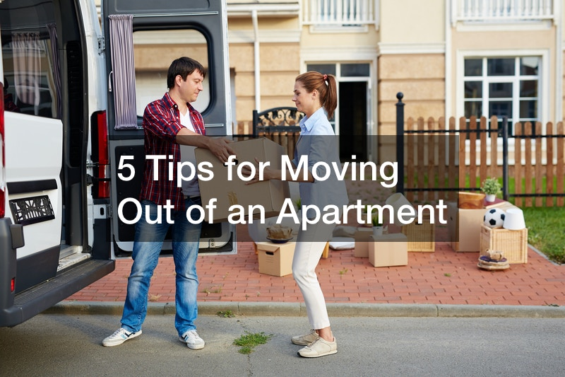 tips for moving out of an apartment